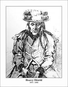 Chief Crowfoot, Chief Old Sun, Chief Heavy Shield