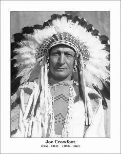 Chief Joe Crowfoot