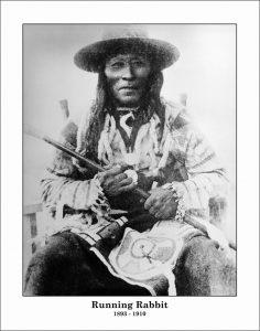 Chief Running Rabbit (d.1911), Chief Iron Shield