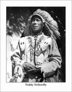 Chief Duck Chief (d.1948), Chief Teddy Yellowfly