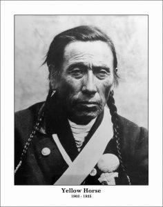 Chief Iron Shield (d.1921), Chief Yellow Horse