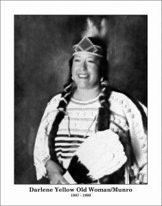 Chief Darlene Yellow Old Woman-Munro
