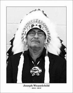 Chief: Joe Weasel Child